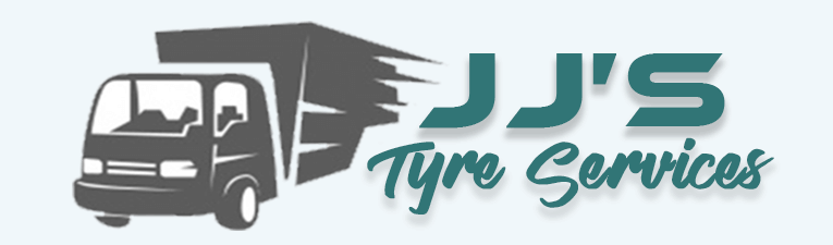 jj's tyre service logo call now